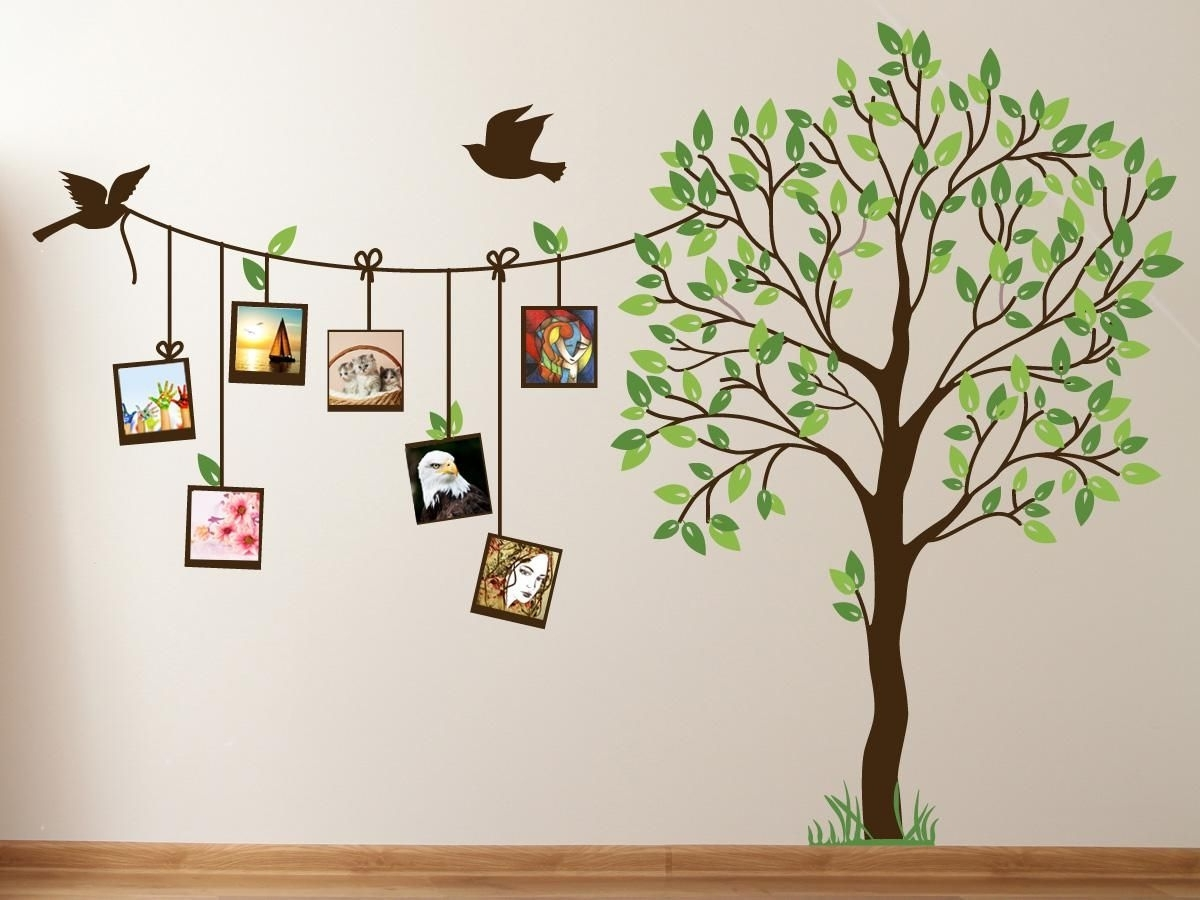 Featured Photo of Painted Trees Wall Art