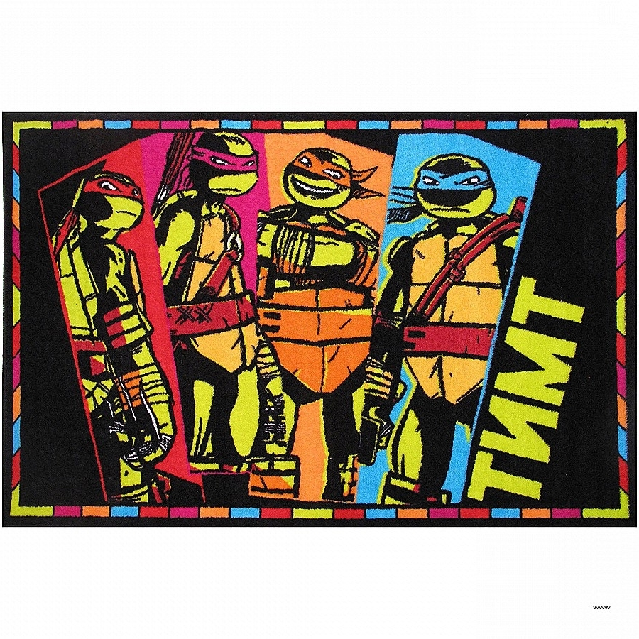 Tmnt Wall Art Elegant Fun Rugs Nickelodeon Ninja Turtles Tmnt Kids Inside Newest Tmnt Wall Art (View 14 of 15)