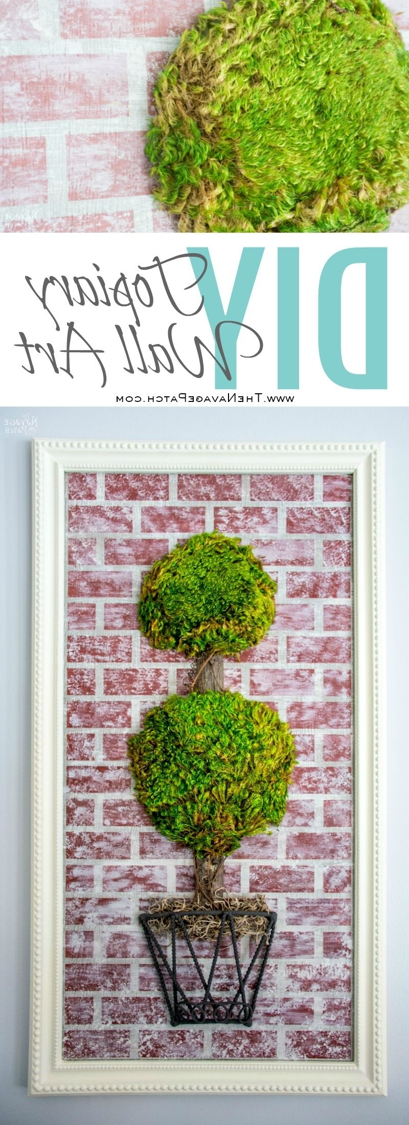 Topiary Wall Art – The Navage Patch Pertaining To Favorite Topiary Wall Art (View 3 of 15)