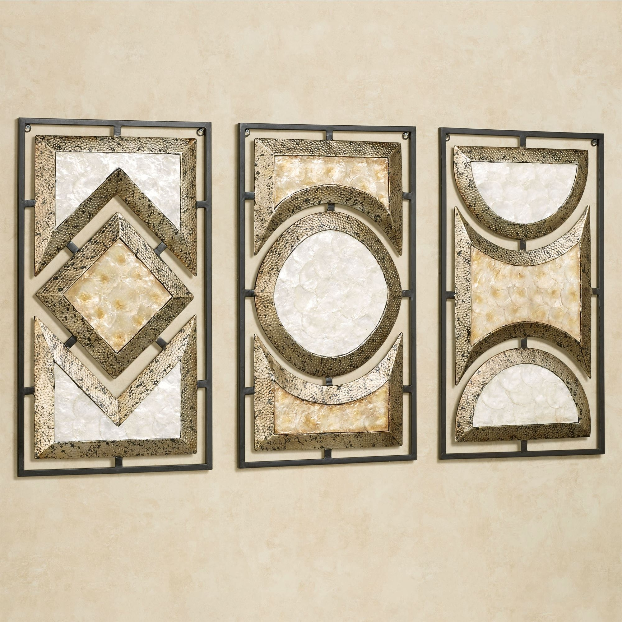 Touch Of Class In 2017 Jeweled Metal Wall Art (View 12 of 15)