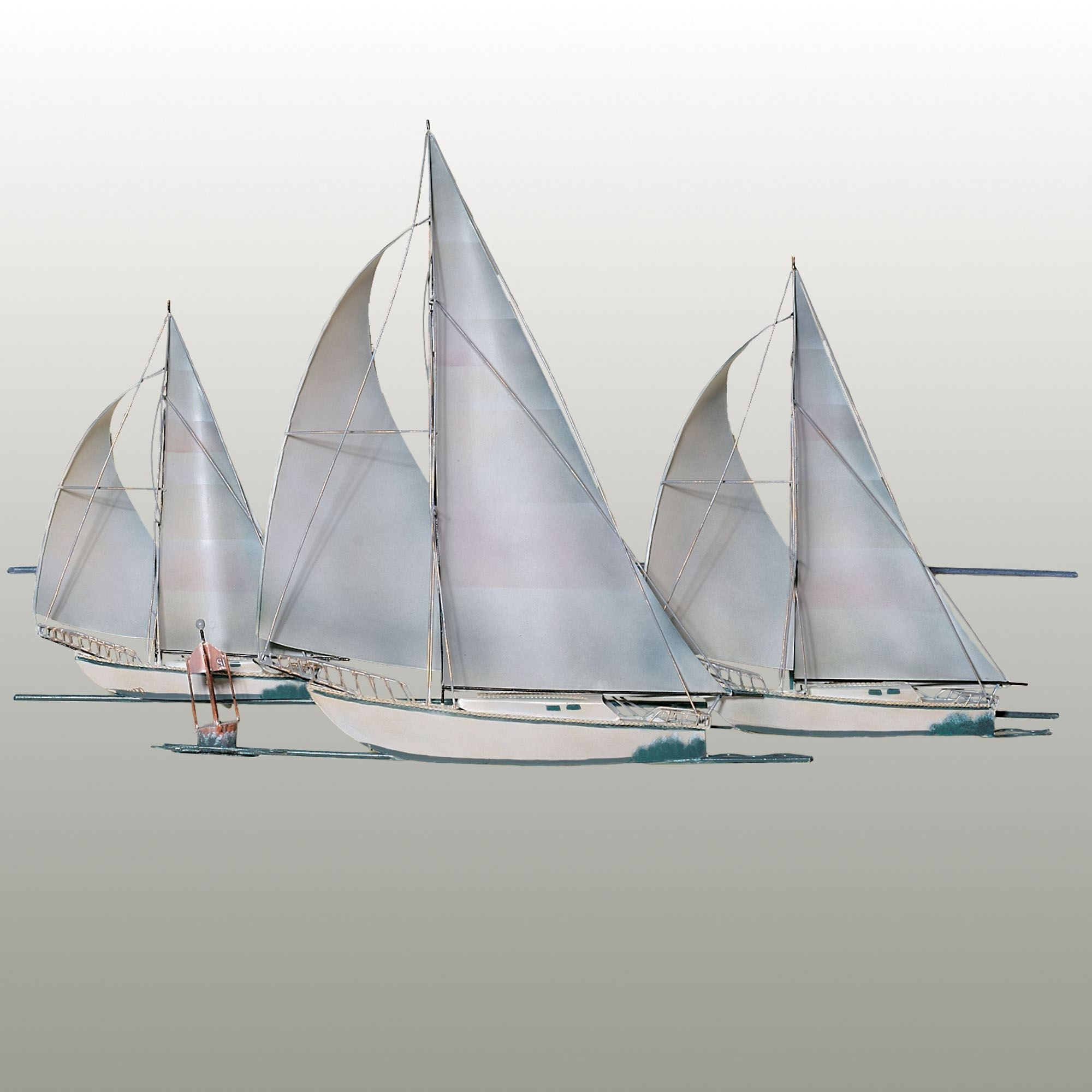 Touch Of Class With Metal Sailboat Wall Art (View 15 of 15)