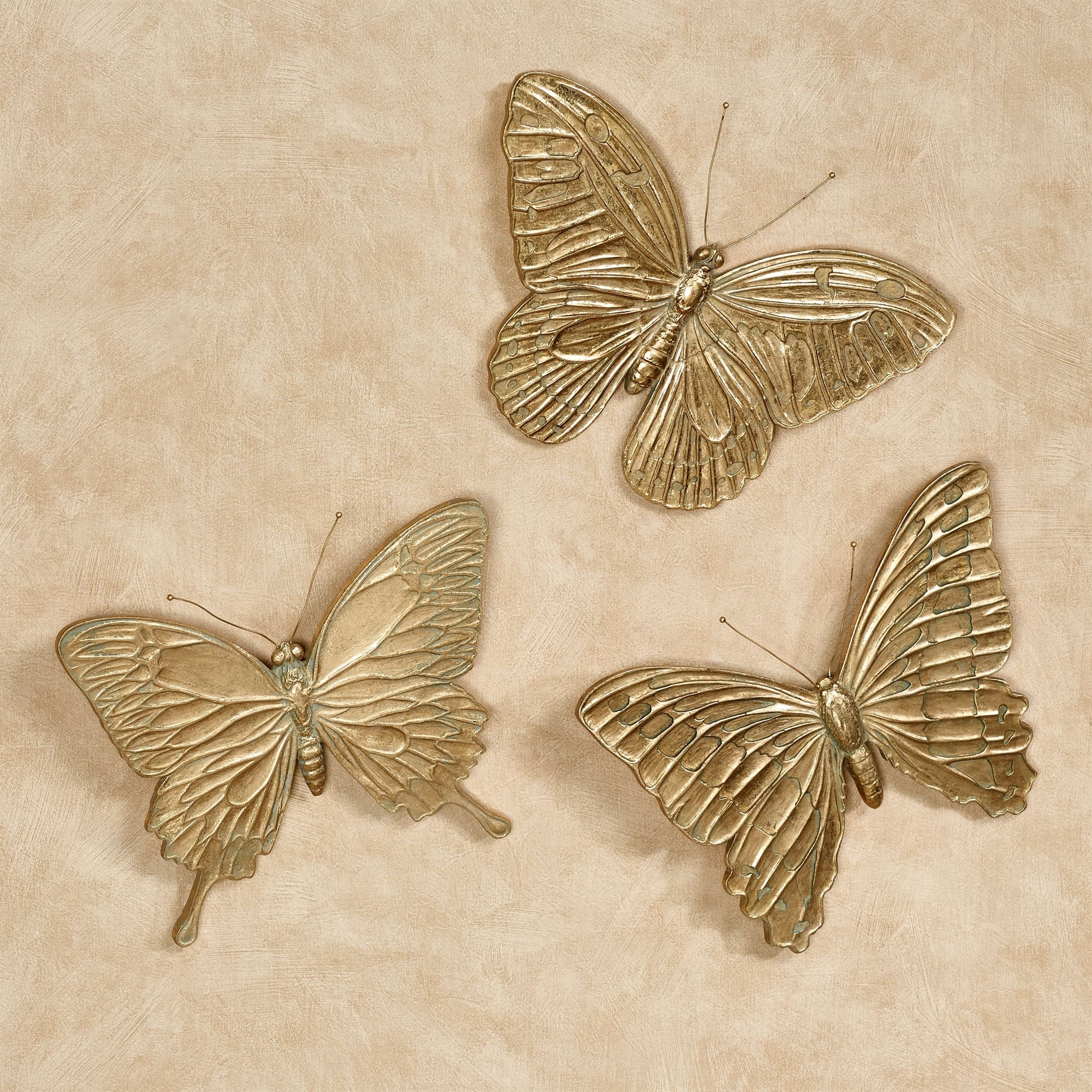 Touch Of Class With Regard To 2018 White Metal Butterfly Wall Art (Gallery 6 of 15)