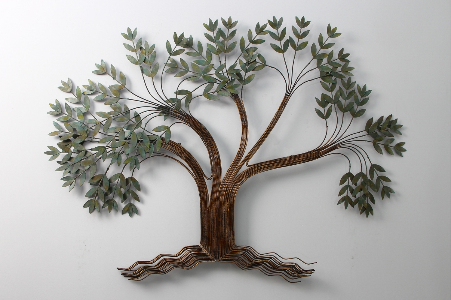 Tree Wall Art Sculpture In Most Current Metal Art Wall Decor Sculpture (View 11 of 15)