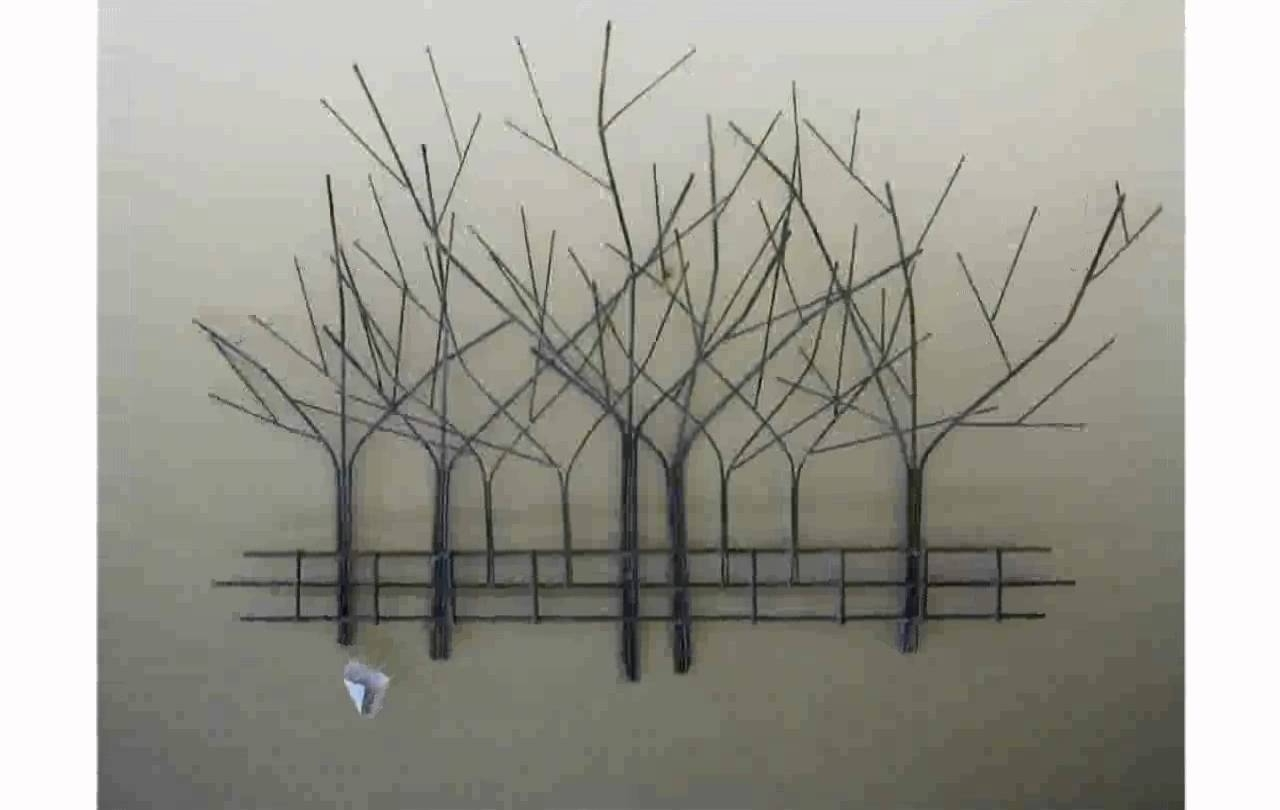 Tree Wall Art – Youtube For Recent Tree Wall Art Sculpture (View 5 of 15)