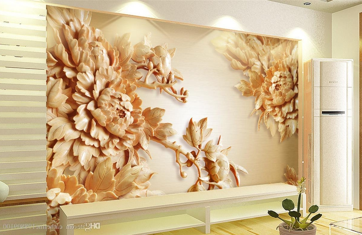Featured Photo of 3D Wall Art Wallpaper
