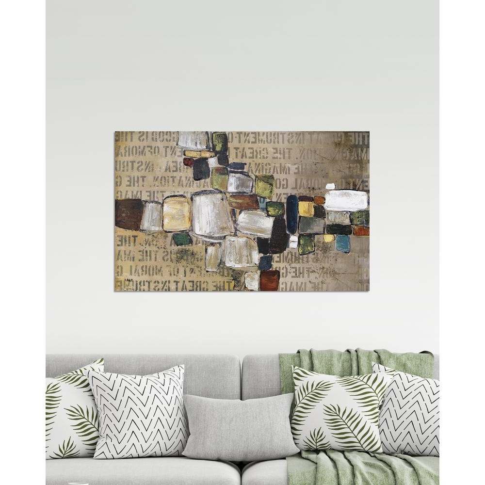 Trendy Abstract Wall Art With Regard To Pathwork Abstract Wall Arttina O (View 15 of 15)