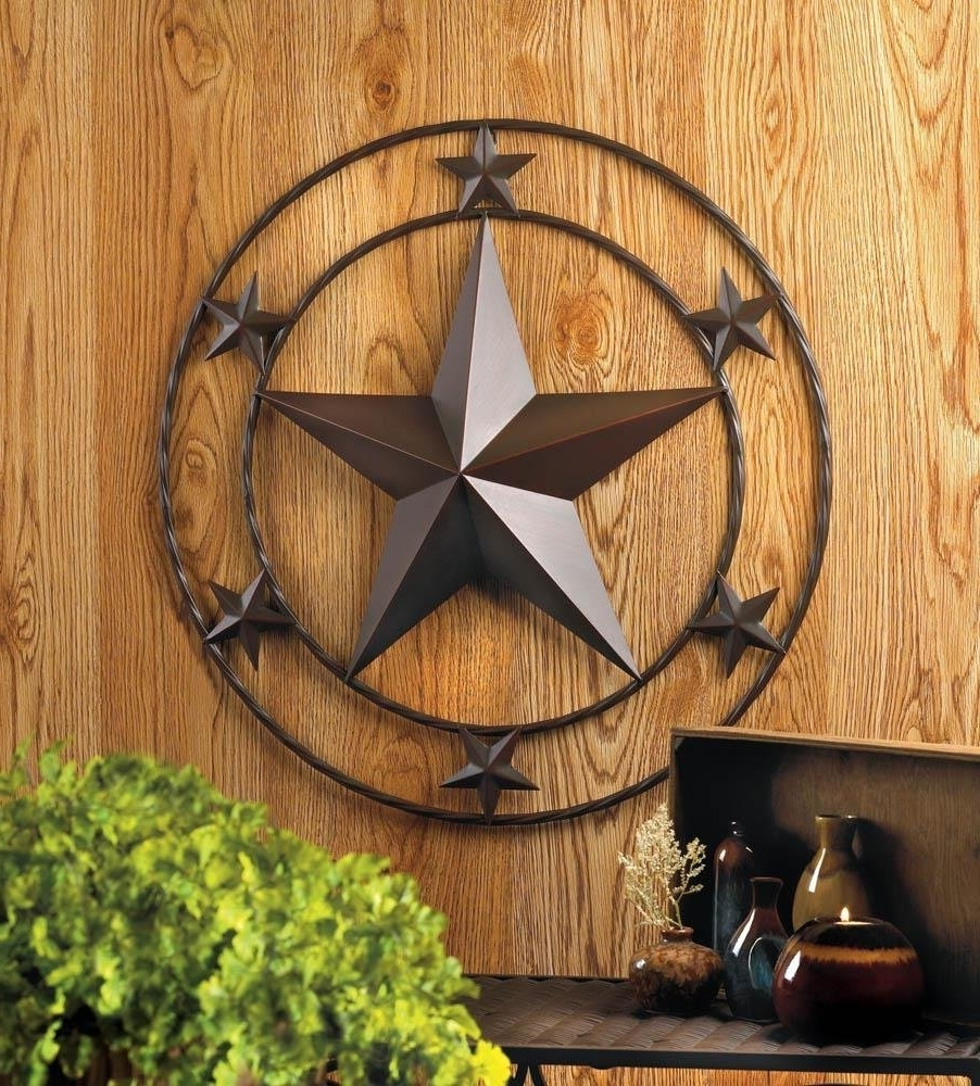 "Trendy Amazon: Texas Star Wall Decor – Home Decor – 24""x24"": Home For Texas Star Wall Art (View 10 of 15)"