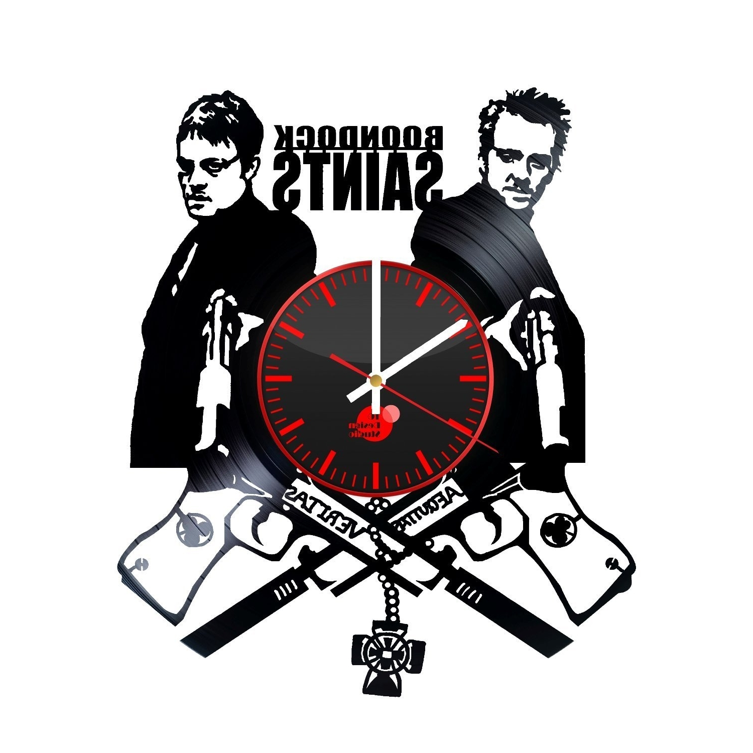 Trendy Boondock Saints Wall Art Inside The Boondock Saints Handmade Vinyl Record Wall Clock Fan Gift  sc 1 st  Arts Accents Decals Murals Collections and More. & View Photos of Boondock Saints Wall Art (Showing 4 of 15 Photos)