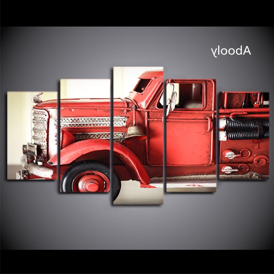 Trendy Buy Fire Truck Art And Get Free Shipping On Aliexpress Within Fire Truck Wall Art (View 13 of 15)