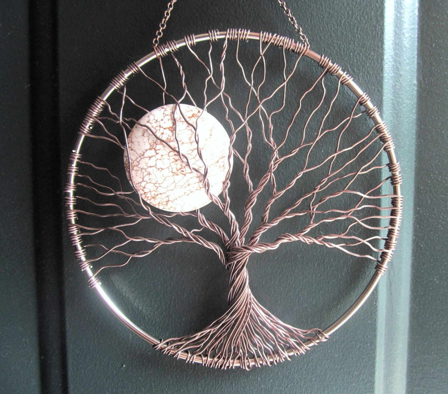 Trendy Celtic Tree Of Life Wall Art In Calming Tree Wire Tree Of Life Wall Hanging Sunhomebabycrafts (View 11 of 15)