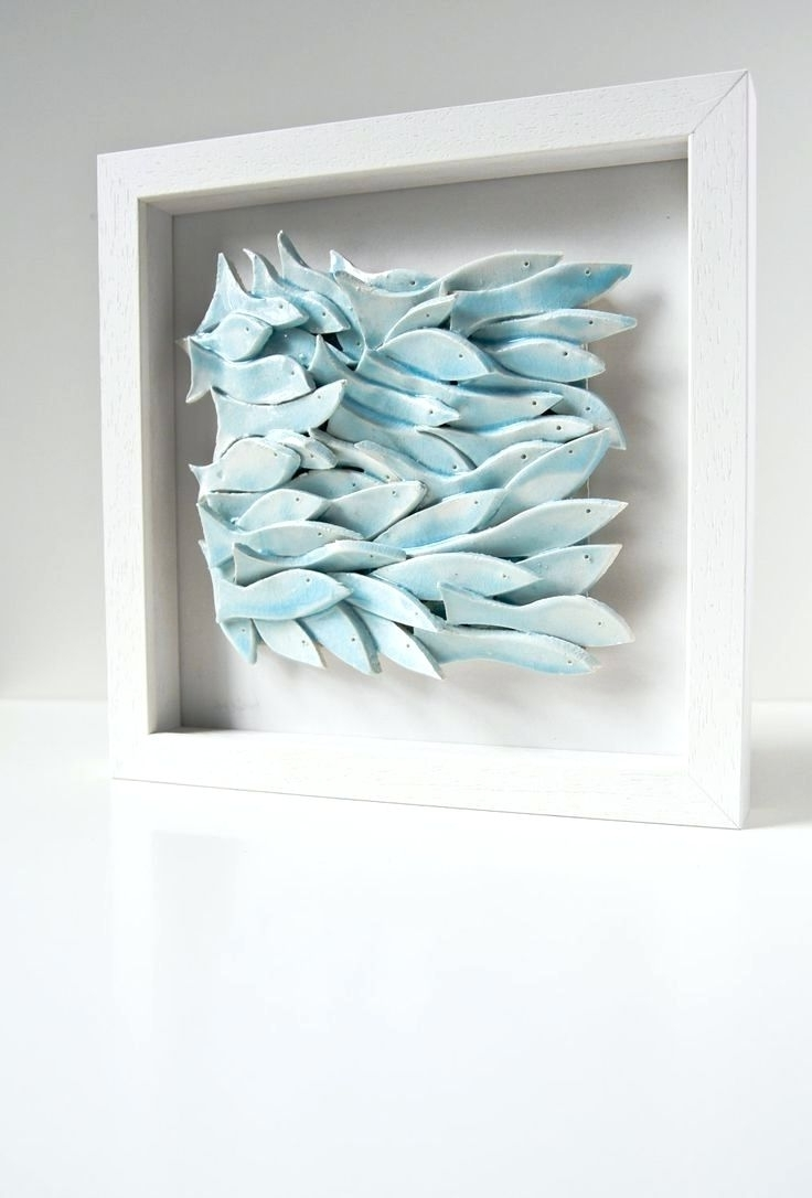 Trendy Fused Glass Fish Wall Art Pertaining To Wall Arts ~ Glass Fish Shoal Wall Art Glass Fish Wall Art 13 Piece (View 6 of 15)