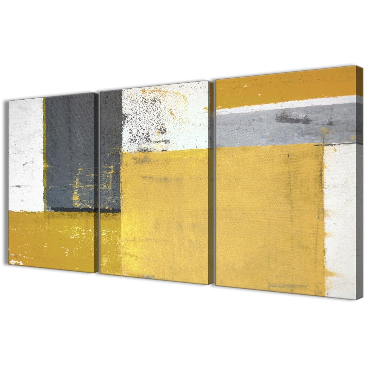 15 The Best Grey Abstract Canvas Wall Art