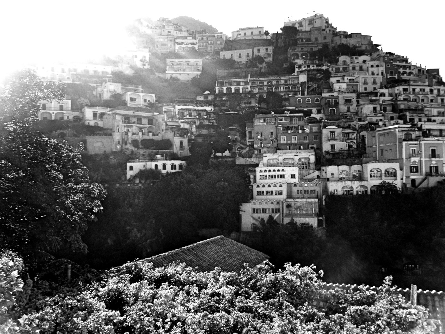 Trendy Italian Coast Wall Art Intended For Black And White Positano Travel Photography – Amalfi Coast – Wall (Gallery 10 of 15)