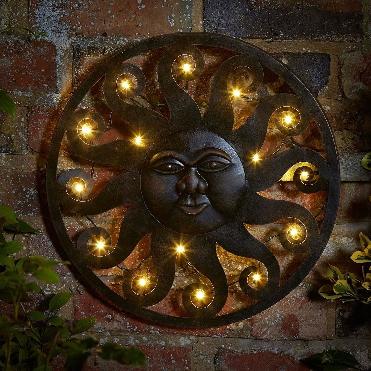 Trendy Large Garden Wall Art Throughout Outdoor Metal Wall Art Design Ideas (View 15 of 15)