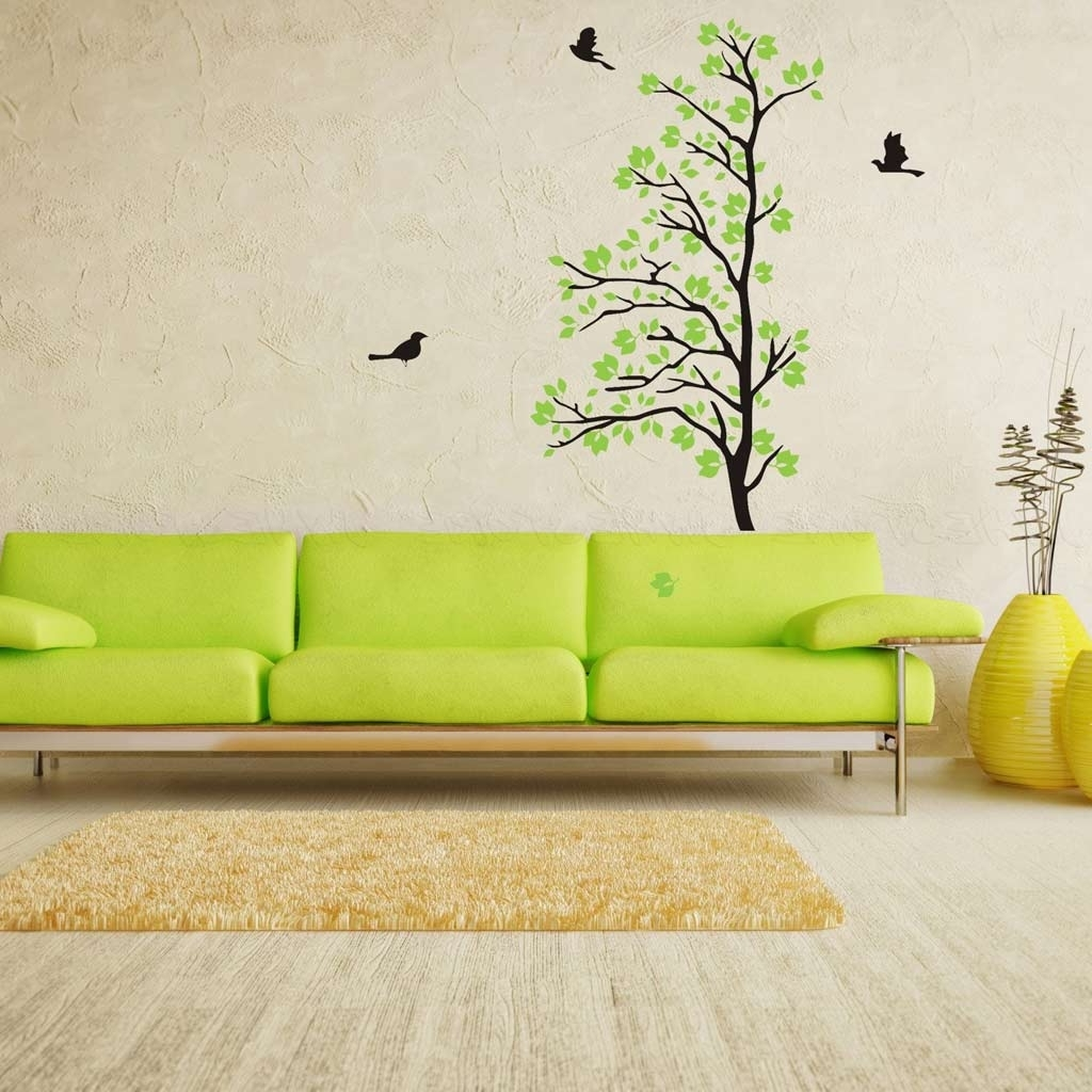 Trendy Living Room : Natural Living Room Wall Decals Stickers Sets Cheap Pertaining To Kohls Wall Decals (View 10 of 15)