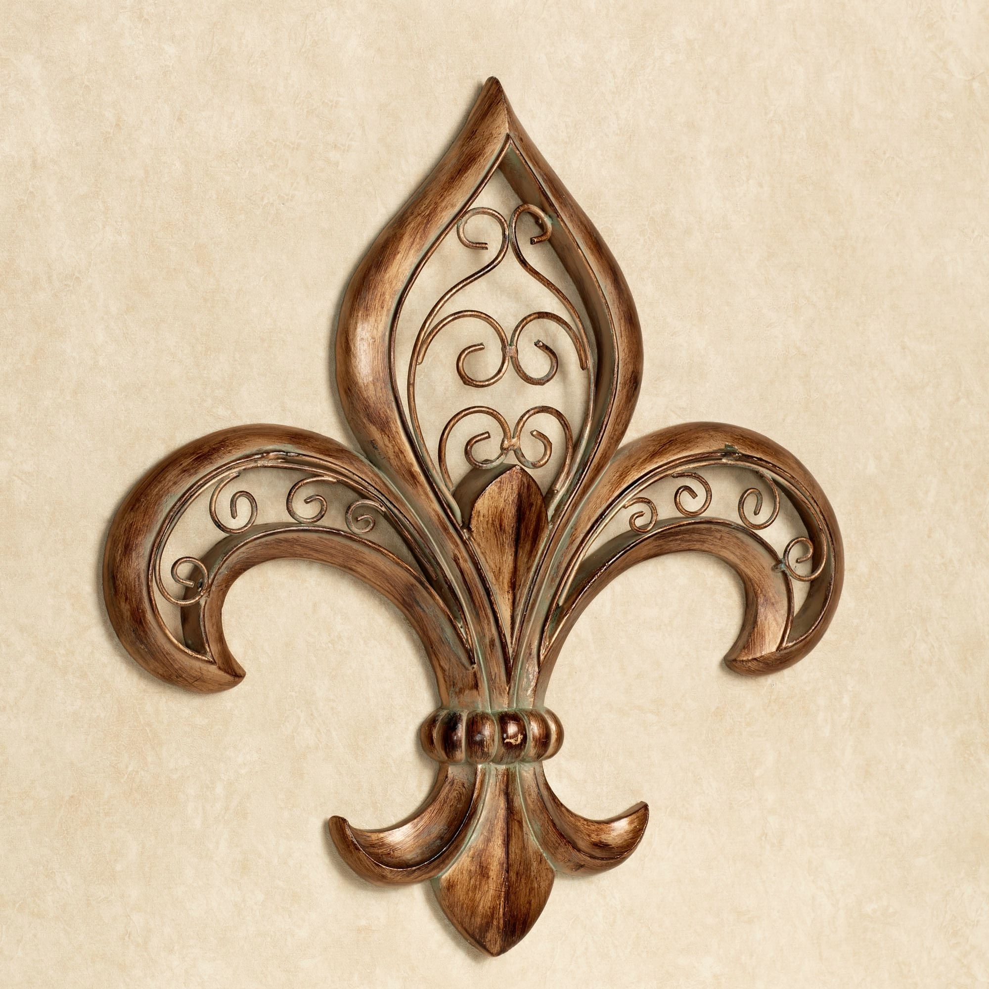 Trendy Metal Fleur De Lis Wall Art Within Traditional Wall Art (View 13 of 15)