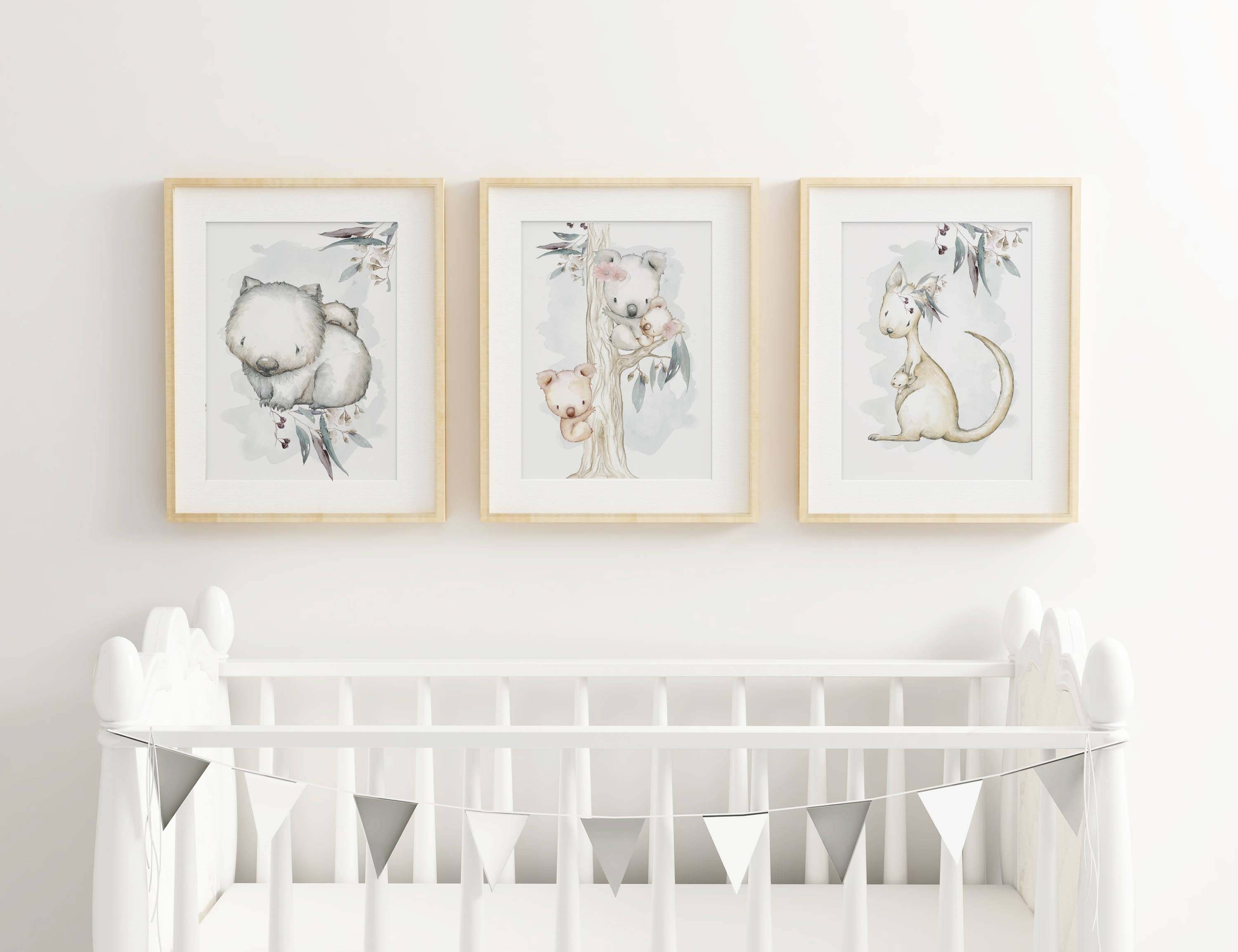 Trendy Nursery And Children Wall Art Throughout Nursery Framed Wall Art (View 13 of 15)