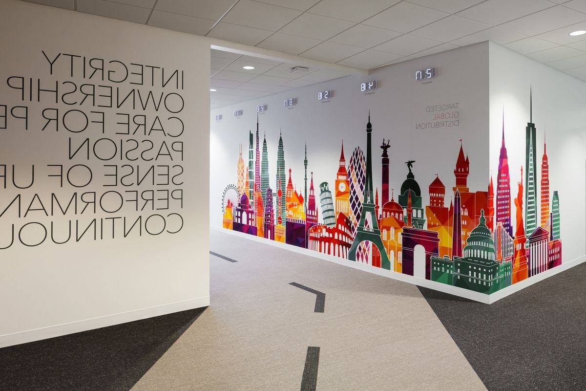 Trendy Printed Wall Graphics For Office Branding – Https://www For Corporate Wall Art (View 10 of 15)