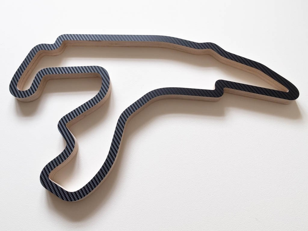 Trendy Race Track Wall Art Within Circuit De Spa Francorchamps Wooden Racing Track Wall Art Carving (View 14 of 15)
