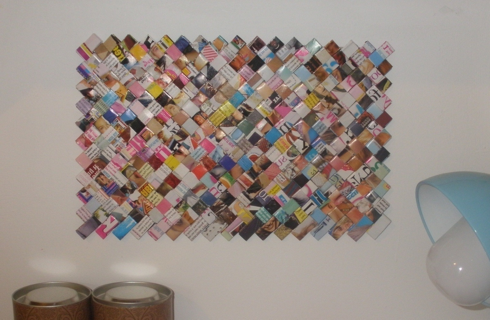 Featured Photo of Recycled Wall Art