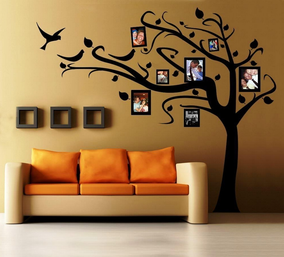 Trendy Space Stencils For Walls Inside Wall Art Decor: Butterfly Nursery Painting Stencils For Wall Art (View 14 of 15)