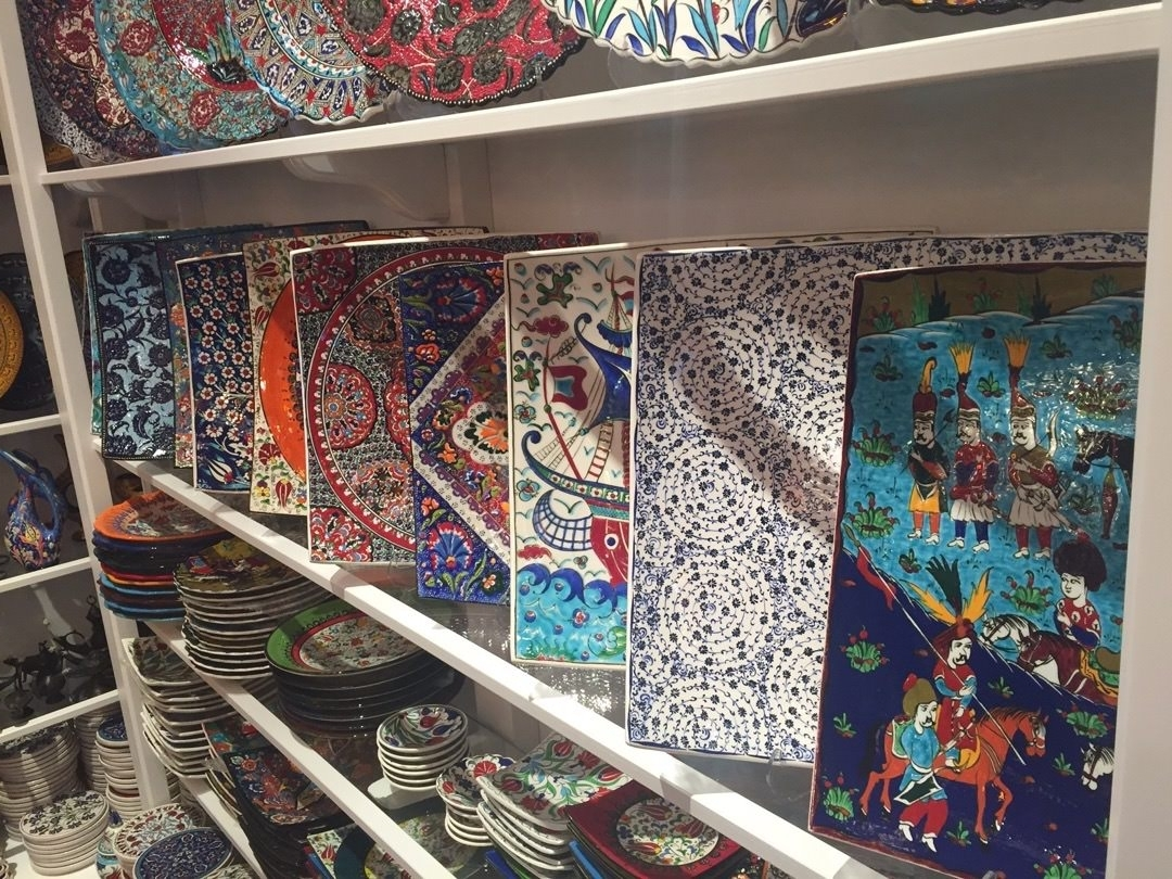 Trendy Turkish Wall Art Regarding Turkish Ceramics (Gallery 11 of 15)