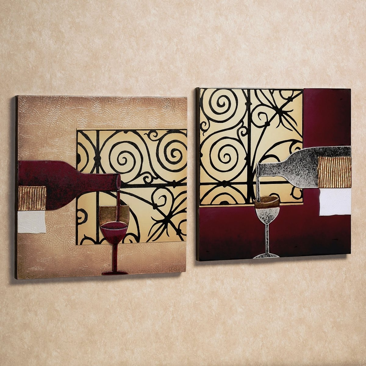 Trendy Wall Art Designs: Wine Wall Art Wine Wall Art Large Canvas Wall Intended For Wine Themed Wall Art (Gallery 2 of 15)