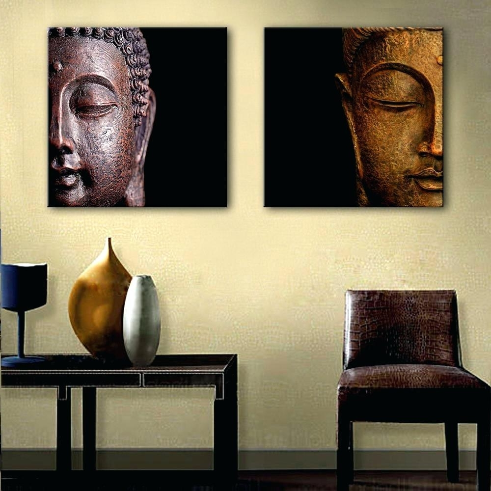 Explore Gallery of Large Buddha Wall Art (Showing 4 of 15 Photos)
