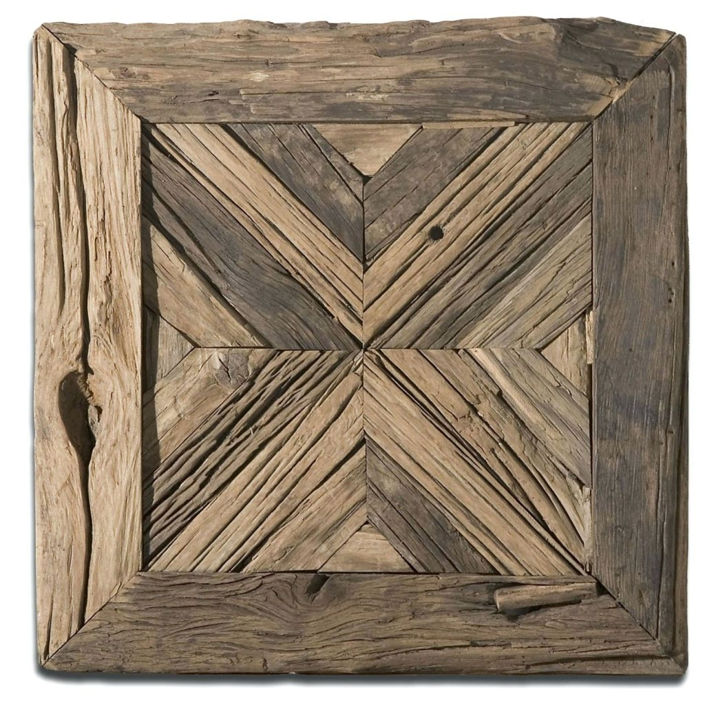 Trendy Wall Arts ~ Large Vintage Wooden Wall Art Old Barn Wood Wall Art Intended For Large Vintage Wall Art (View 11 of 15)