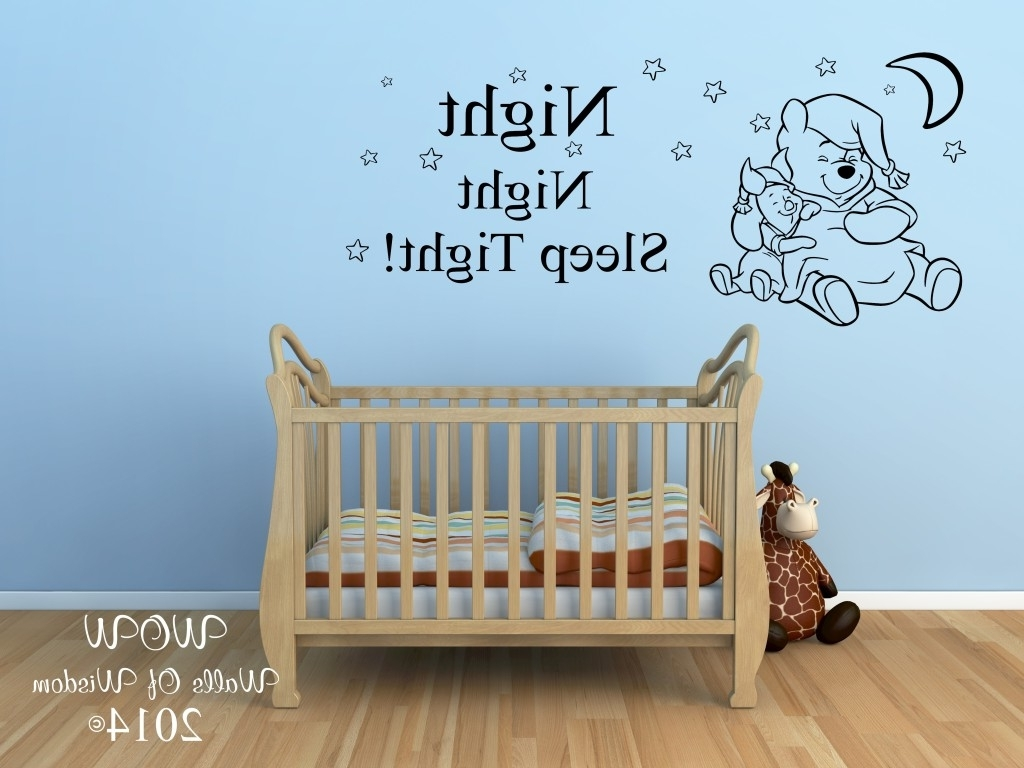 Trendy Winnie The Pooh Wall Art With Regard To Nursery Mural Ideas – Palmyralibrary (View 11 of 15)