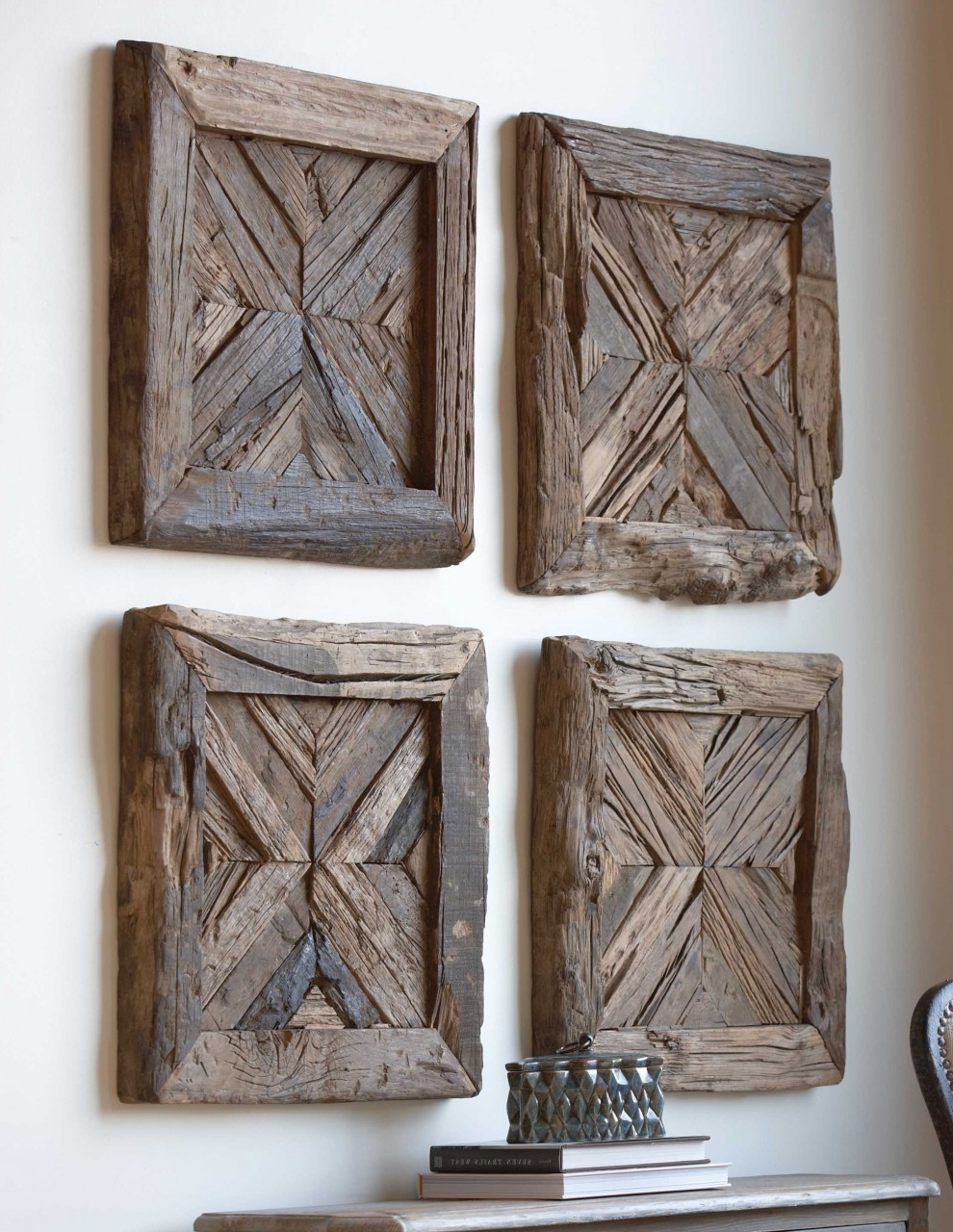 Trendy Wood Panel Wall Art Inside Rustic Wood Wall Art Ideas Recous – Sustainable Pals (View 7 of 15)