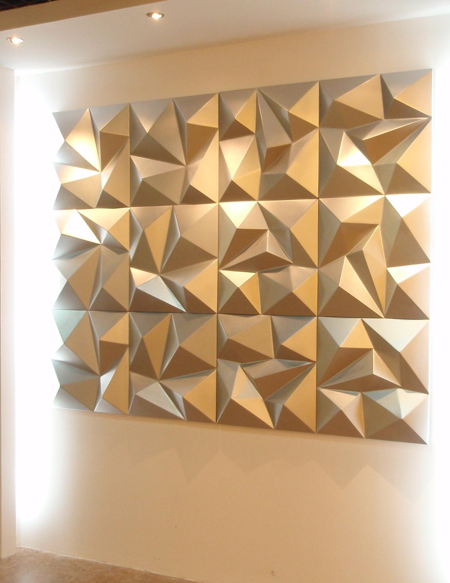 Best 15 Of 3d Wall Panels Wall Art