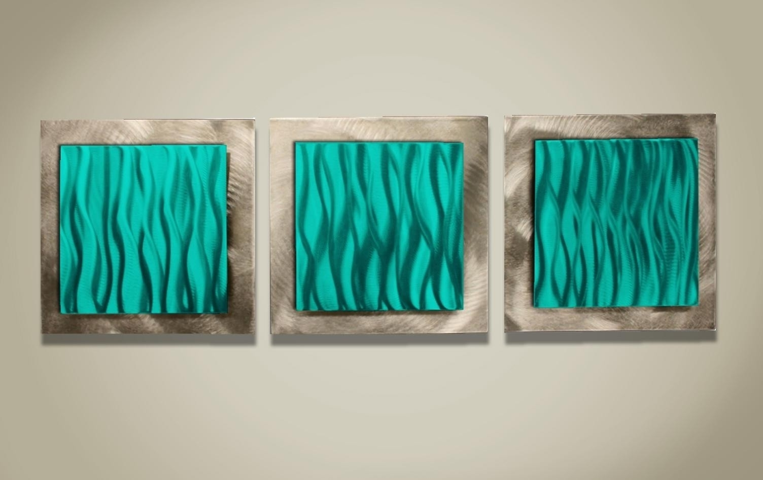 Turquoise And Black Wall Art For Newest Turquoise And Green Wall Art Turquoise Wall Tapestry Turquoise (View 14 of 15)