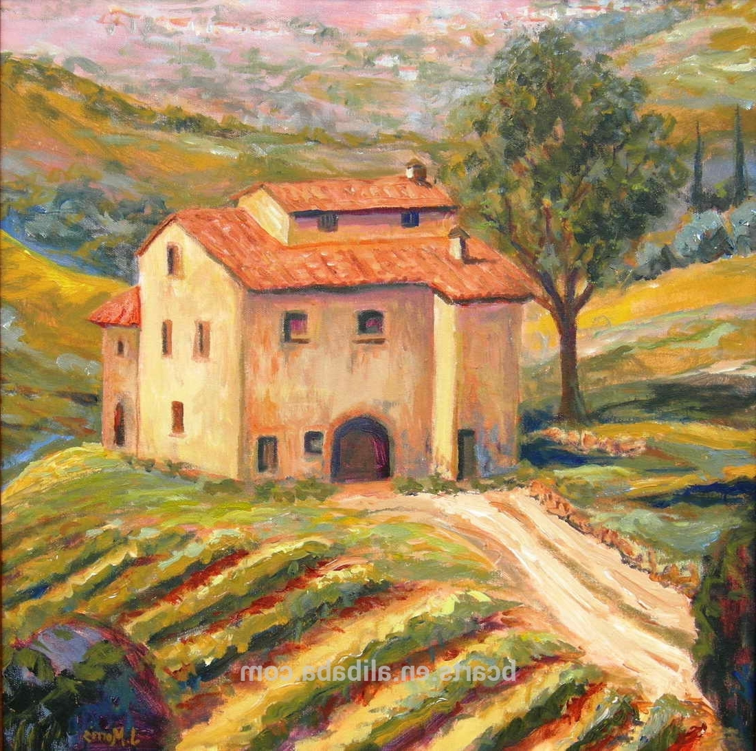 15 Best Collection of Italian Countryside Wall Art