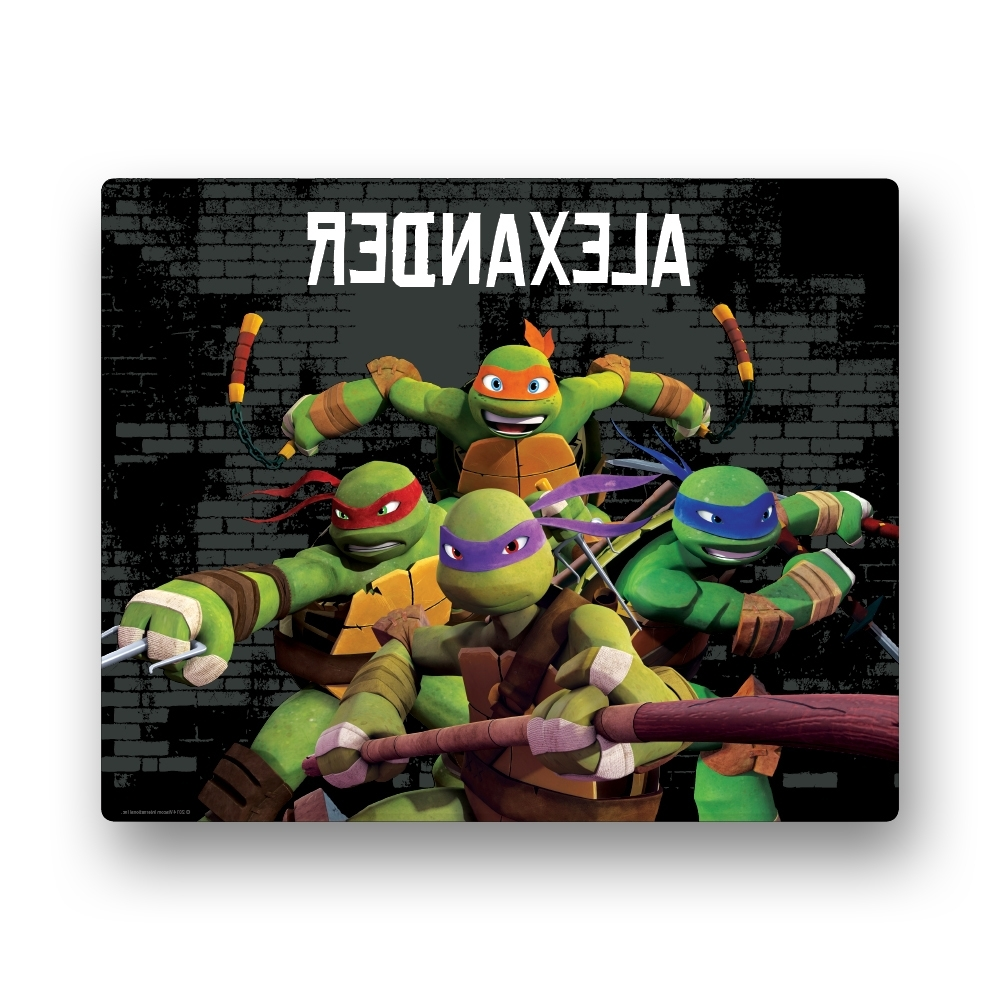 Tv's Toy Box Inside Tmnt Wall Art (View 7 of 15)