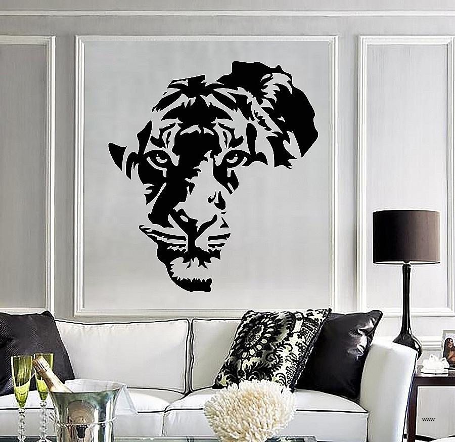 Twiggy Vinyl Wall Art Regarding Newest Vinyl Wall Art South Africa Fresh Vinyl Decal Tiger Animal Africa (View 11 of 15)
