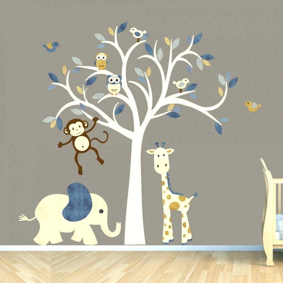 Uk Wall Decals Wall Arts Baby Wall Designs And This Simple Easy For Well  Known Baby