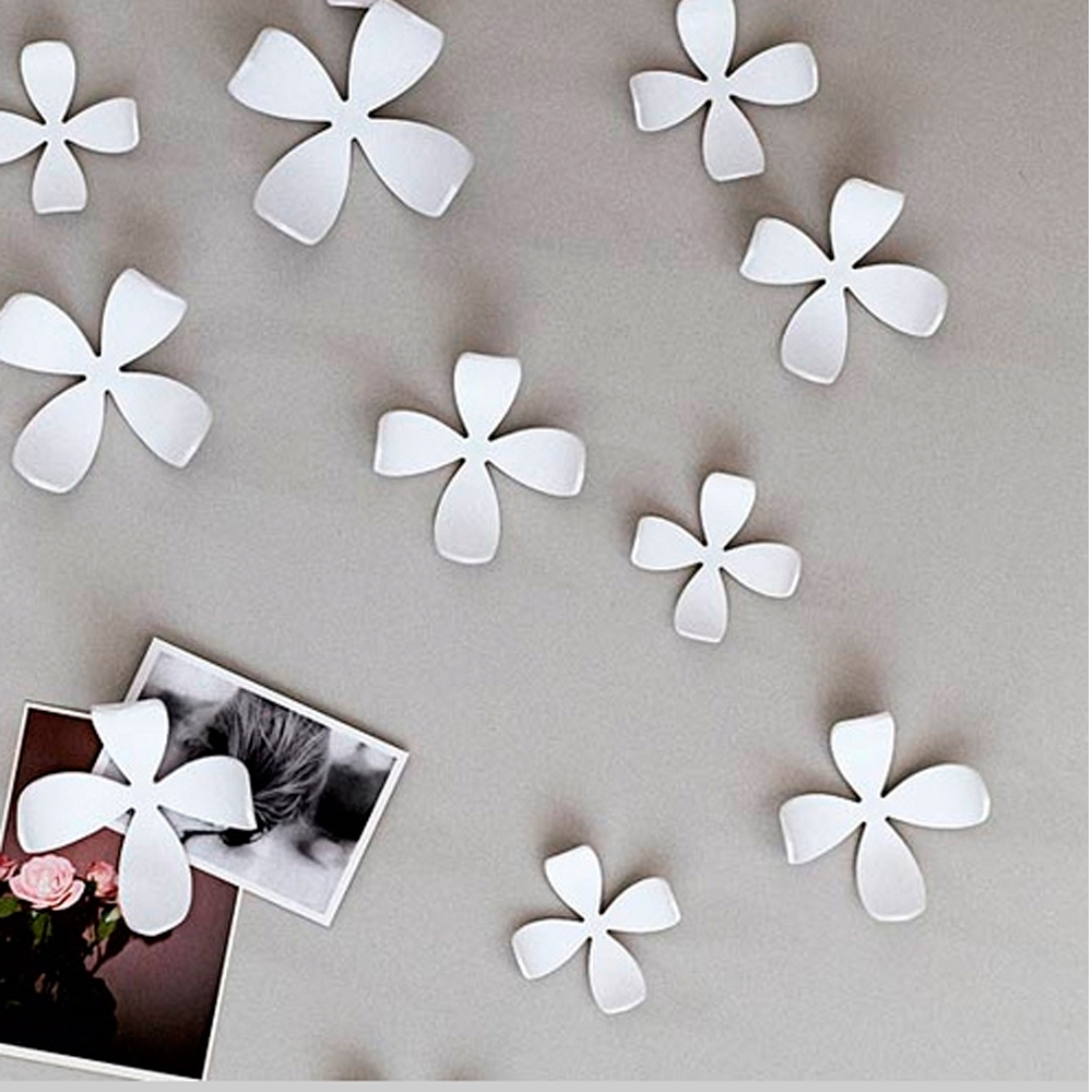Umbra 3d Flower Wall Art With Regard To 2018 Umbra Flowers Wall Decor Ideas • Walls Decor (View 6 of 15)