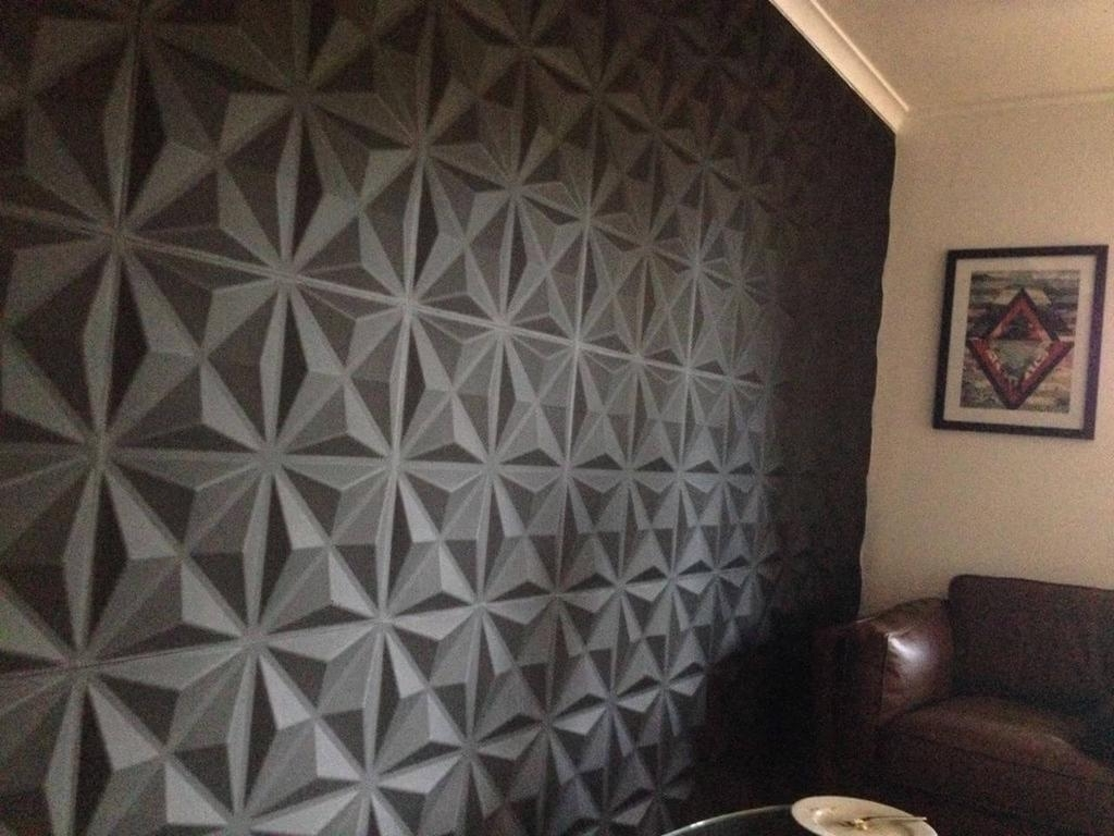 Unique 3d Wall Art Pertaining To Newest Wall Paneling – 3d Wall Panels – Interior Wall Panels (View 3 of 15)