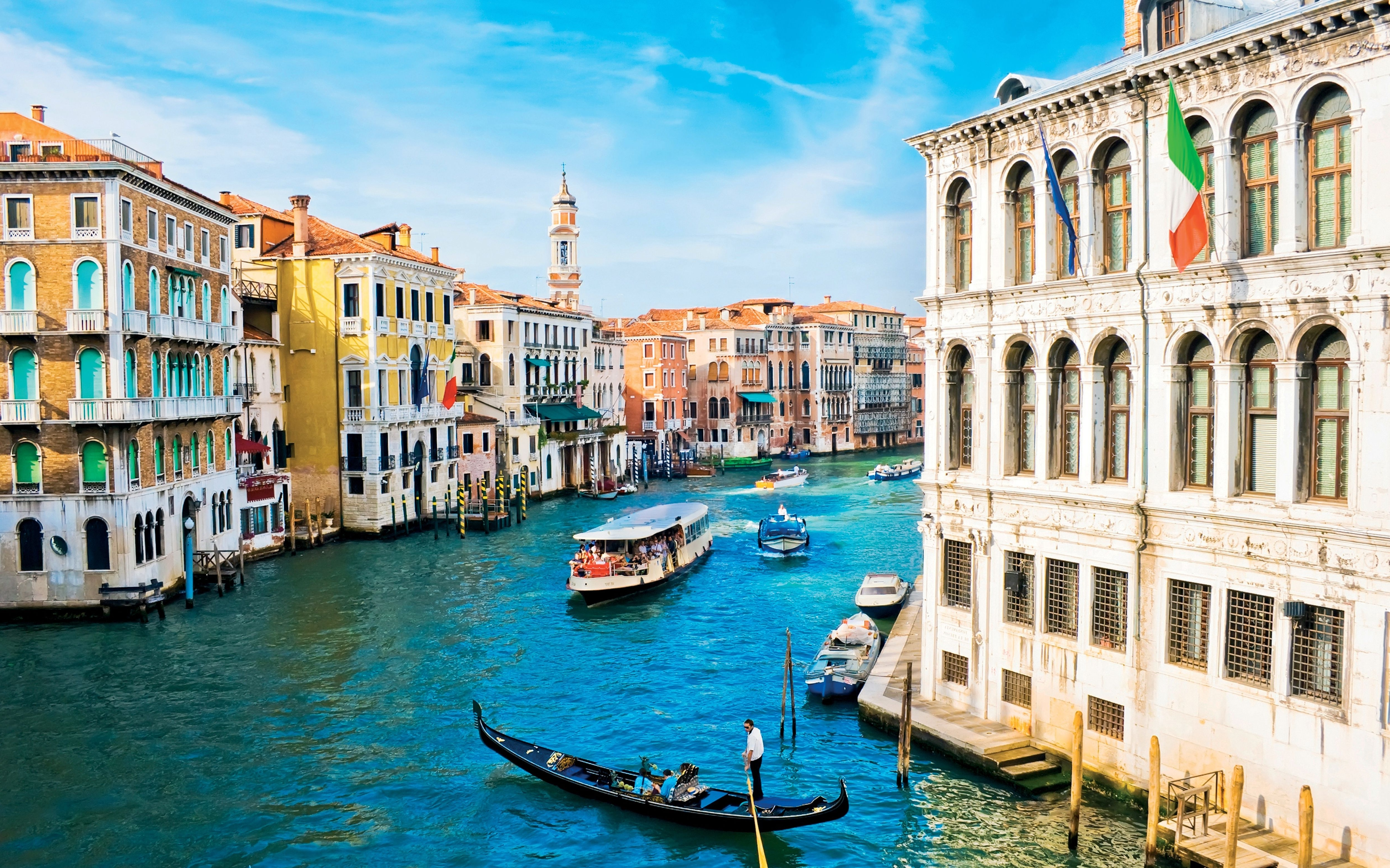 Venice Italy 4K 5K Http://livewallpaperswide/cities/venice Throughout Recent Italian Cities Wall Art (Gallery 10 of 15)