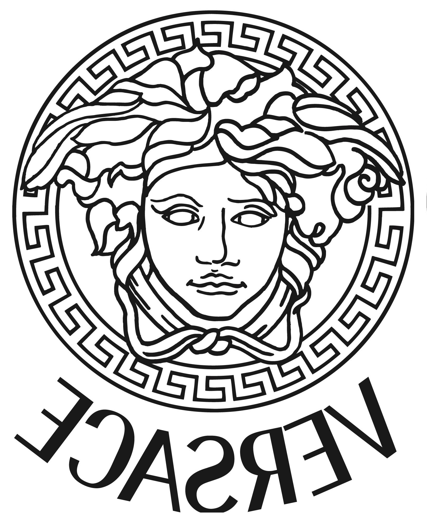 Versace Wall Art Within Most Current Versace Medusa Gold Vinyl Sticker Decal *3 Sizes* Bumper Wall (View 13 of 15)