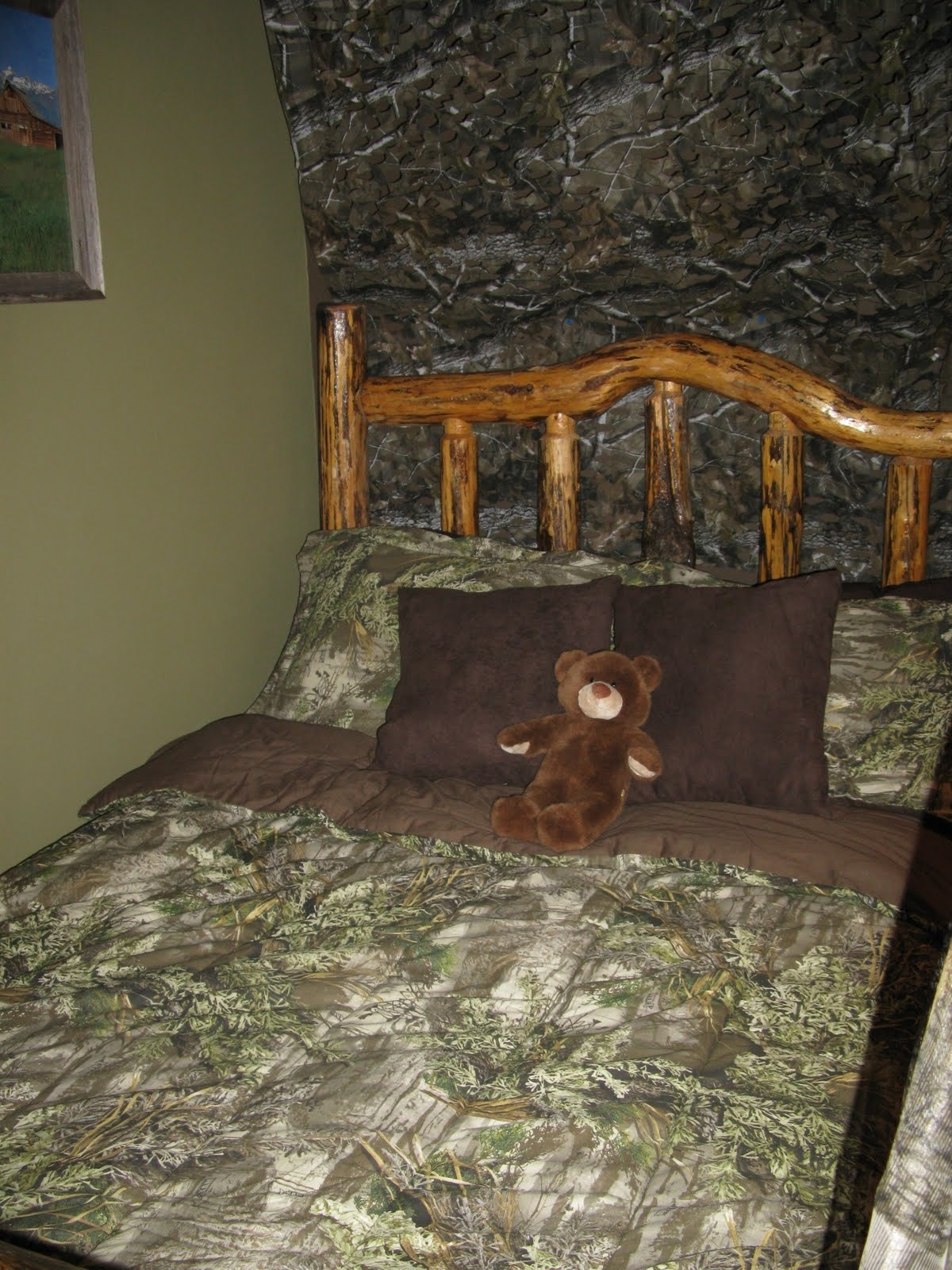 Very Cool Camo Room Decor — Office And Bedroom Throughout Well Known Camouflage Wall Art (View 13 of 15)