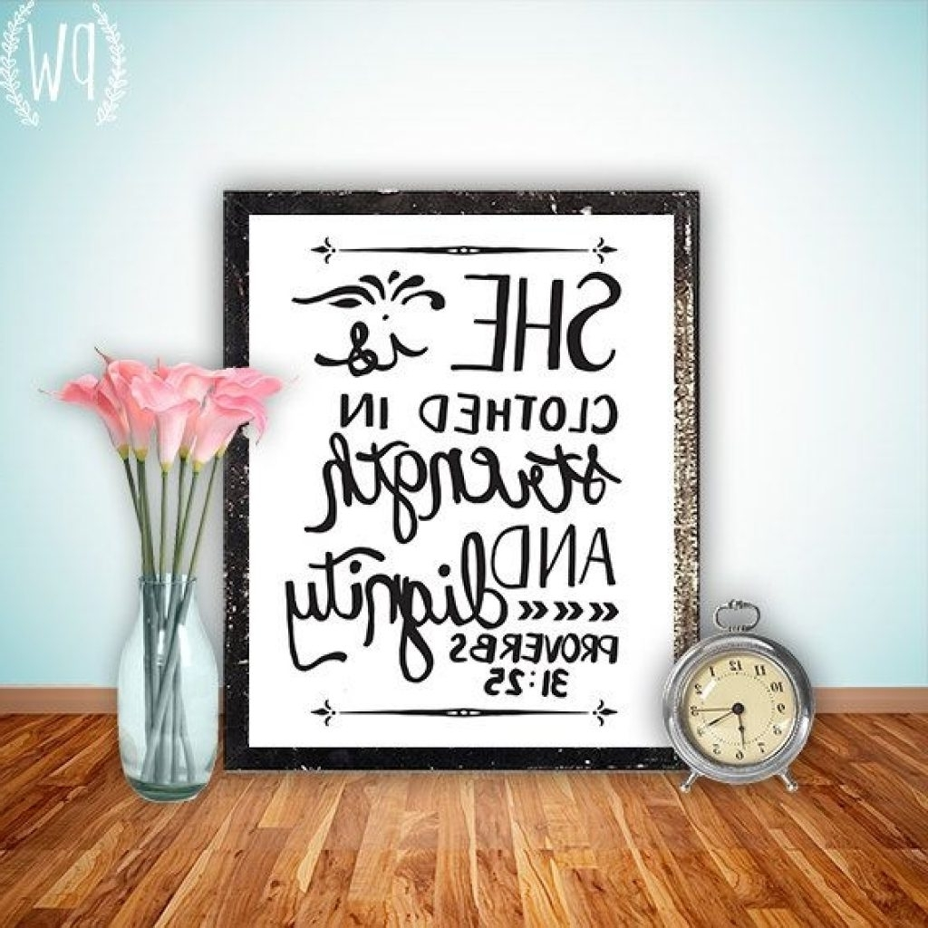 Vibrant Inspiration Bible Verse Wall Decor Decals Quotes For Inside Newest Nursery Bible Verses Wall Decals (View 13 of 15)