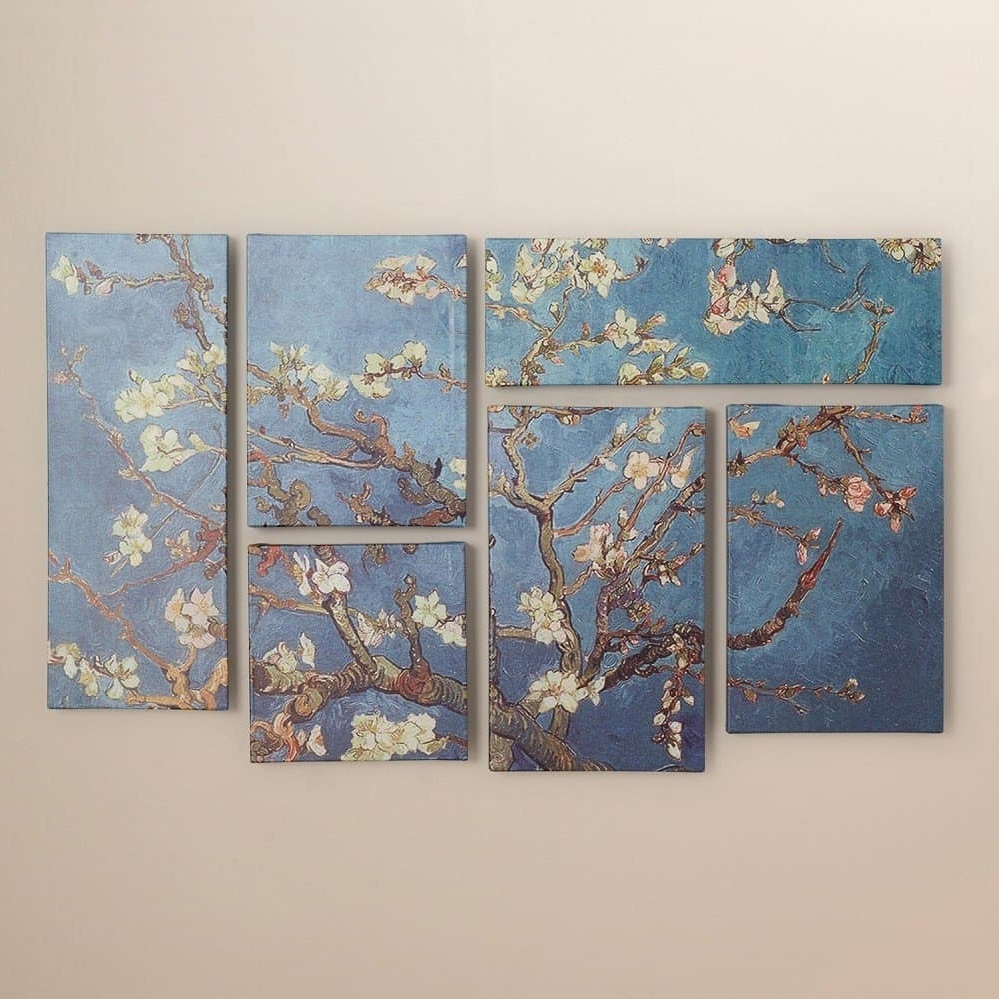 Vincent Van Gogh Multi Piece Wall Art Inside Most Up To Date Living Room Wall Decoration Bungalow Rose 'almond Blossoms' (View 12 of 15)