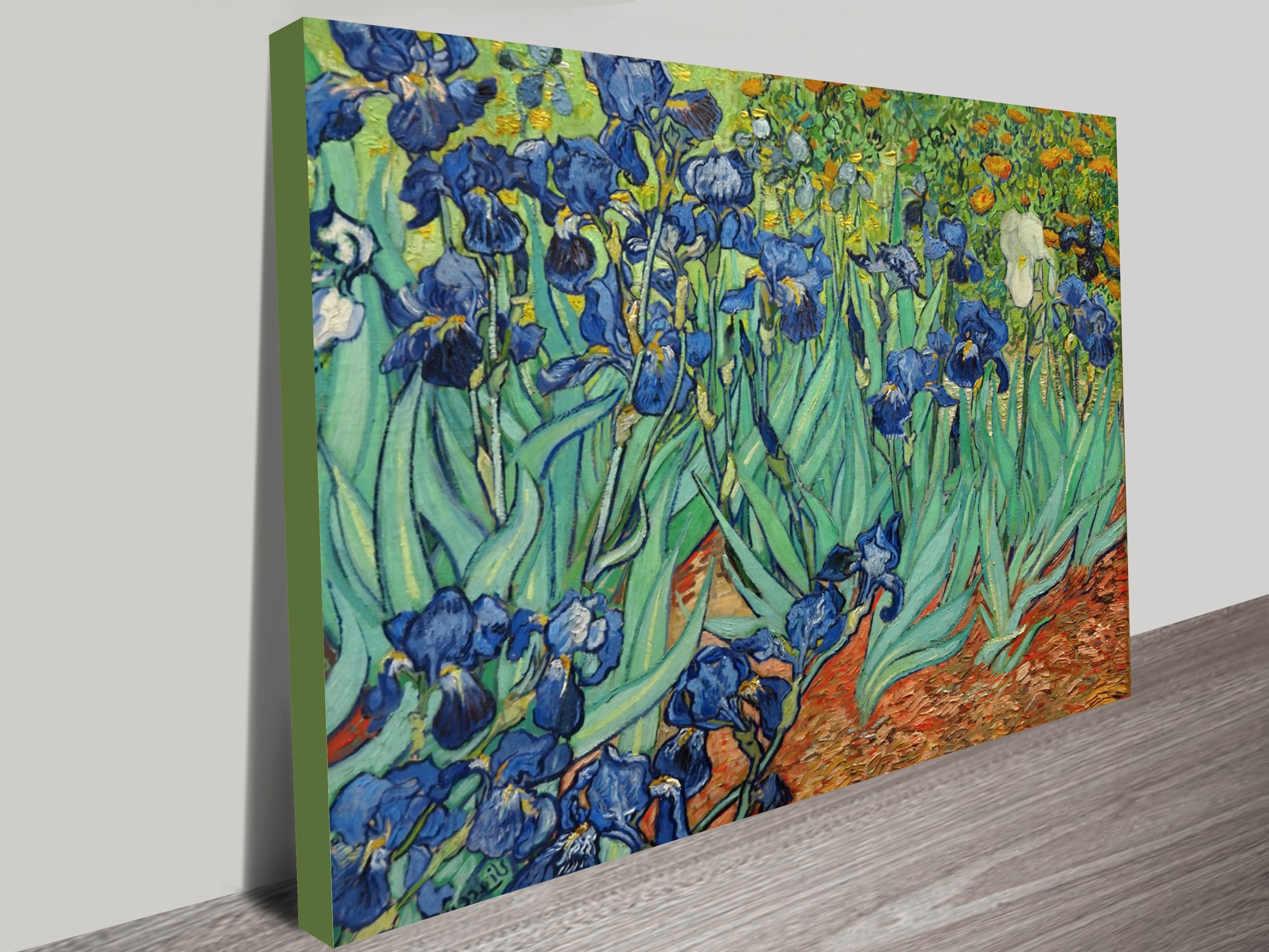 Vincent Van Gogh Wall Art Pertaining To Most Up To Date Irisesvincent Van Gogh Canvas Wall Art Print Perth (Gallery 4 of 15)