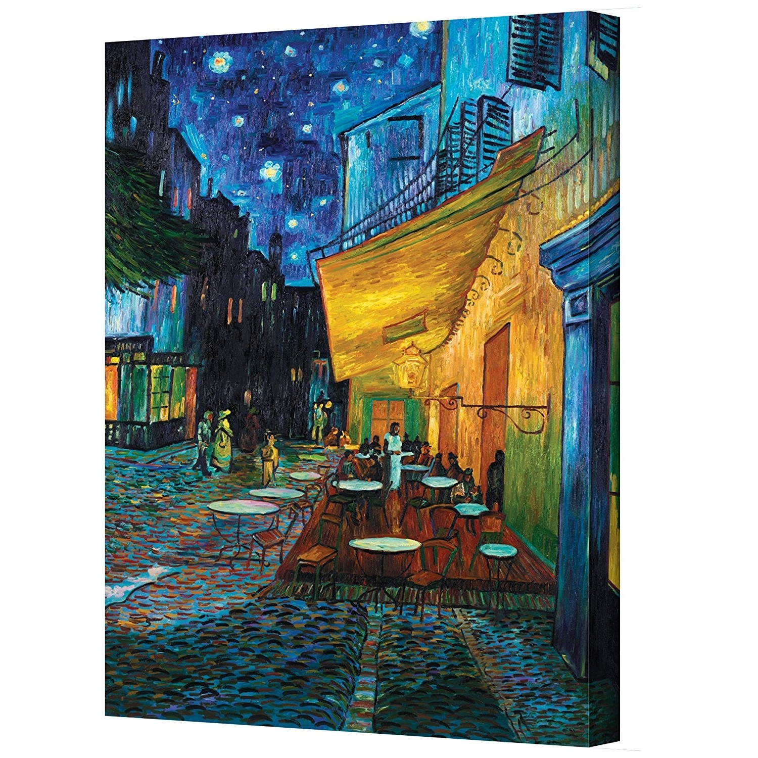Vincent Van Gogh Wall Art Pertaining To Well Liked Amazon: Artwall Cafe Terrace At Nightvincent Van Gogh (Gallery 2 of 15)