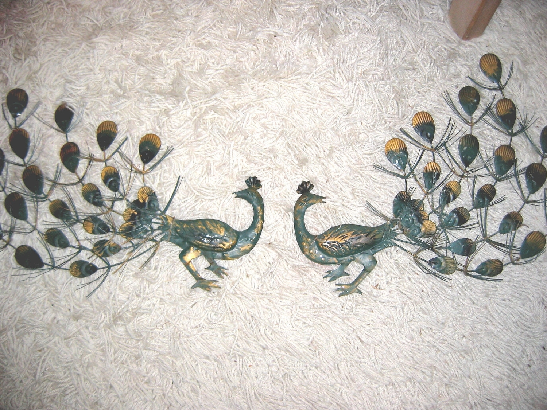 Vintage Metal Peacock Wall Art (Gallery 4 of 15)