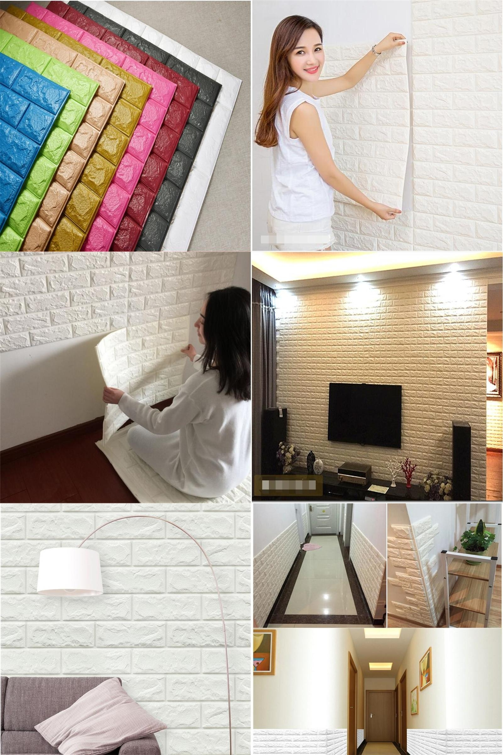 [%visit To Buy] Diy 3d Wall Stickers Art Brick Self Adhesive Intended For Fashionable 3d Brick Wall Art|3d Brick Wall Art For Most Recently Released Visit To Buy] Diy 3d Wall Stickers Art Brick Self Adhesive|best And Newest 3d Brick Wall Art With Visit To Buy] Diy 3d Wall Stickers Art Brick Self Adhesive|newest Visit To Buy] Diy 3d Wall Stickers Art Brick Self Adhesive Throughout 3d Brick Wall Art%] (View 14 of 15)