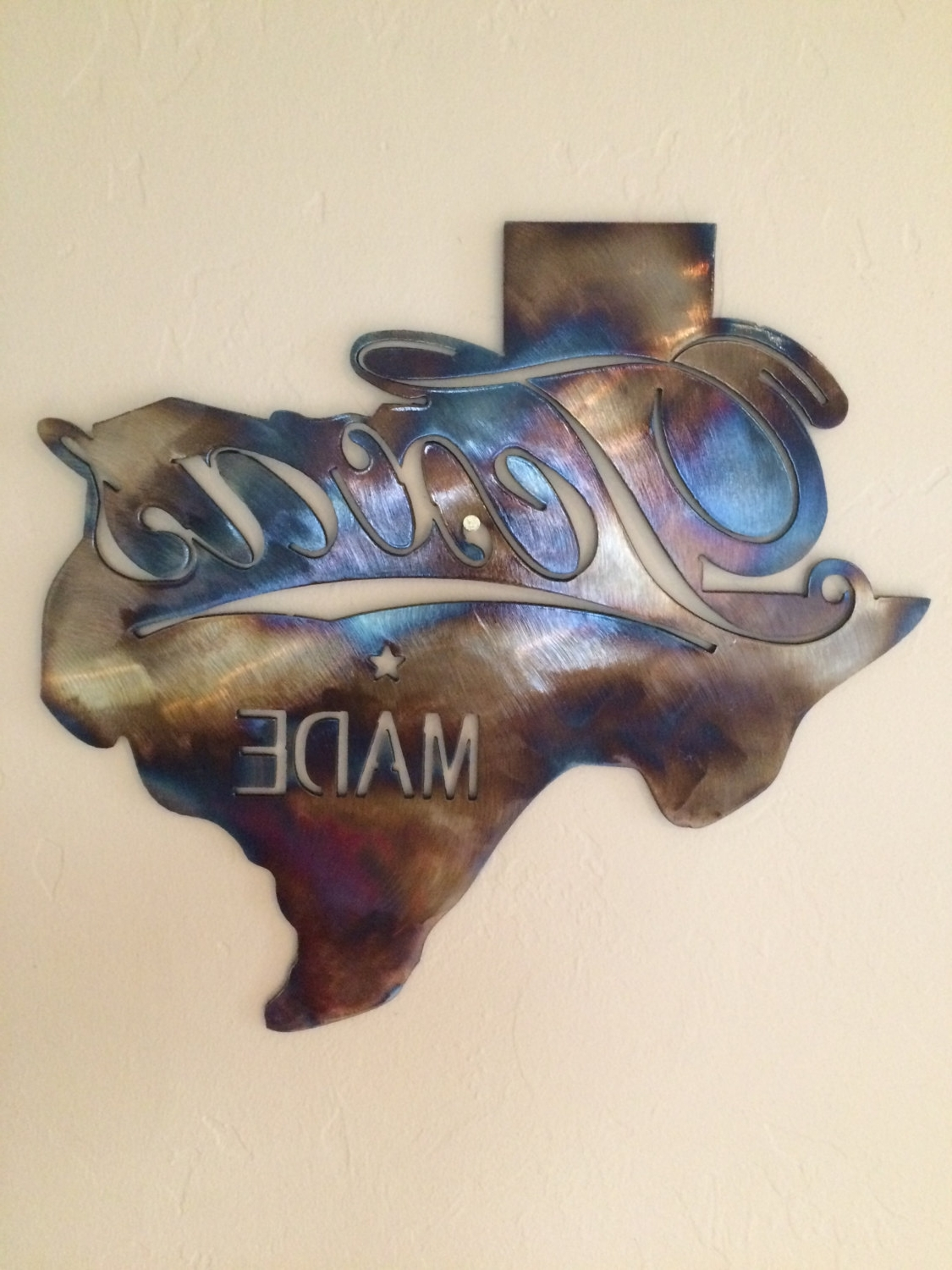 Wall Art: Classic Design About Texas Star Metal Wall Art Texas Intended For Most Recently Released Texas Star Wall Art (View 11 of 15)