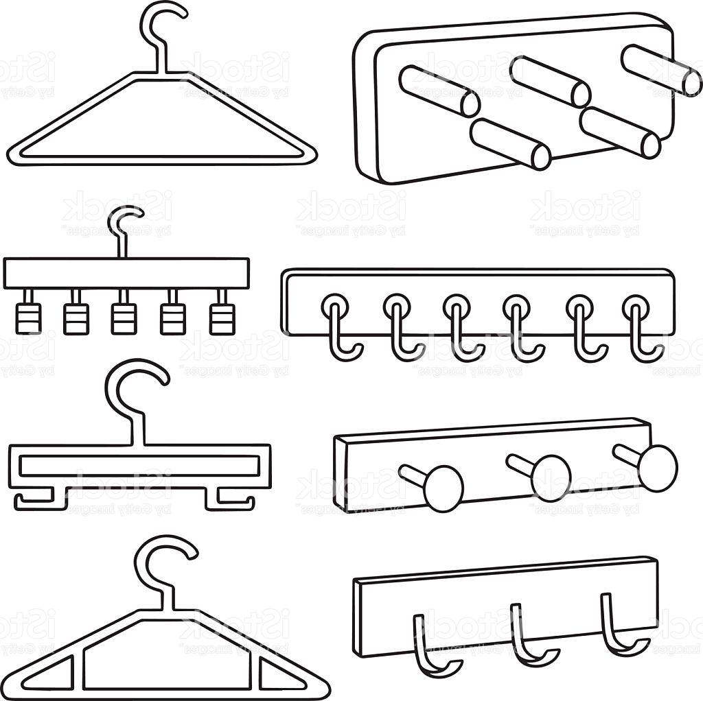 Wall Art Coat Hooks Pertaining To Recent Coat Clipart Coat Hook – Pencil And In Color Coat Clipart Coat Hook (View 12 of 15)
